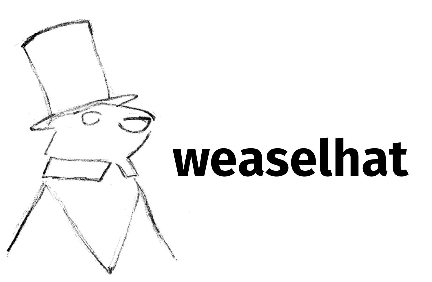weaselhat Logo